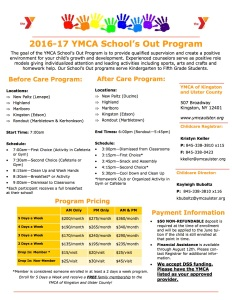 2016-17 school year flyer